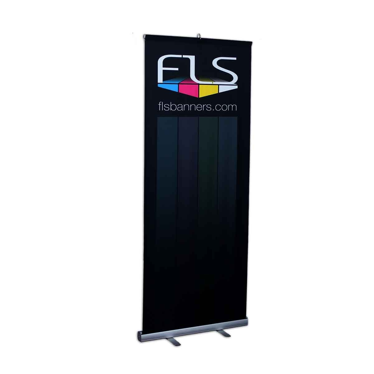 Economy Roll Up Banner Stand - 33.5in X 80in