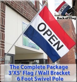 Open Flag Combination Package