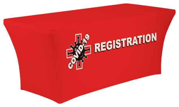 COVID-19 Registration Table Cover