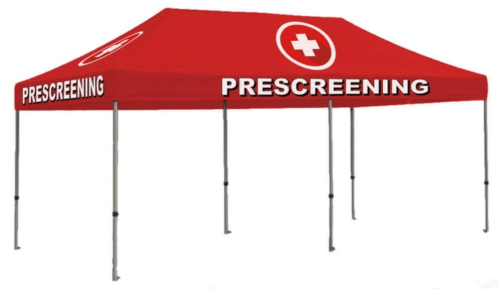 Prescreening 10ft x 20ft Outdoor Shelter