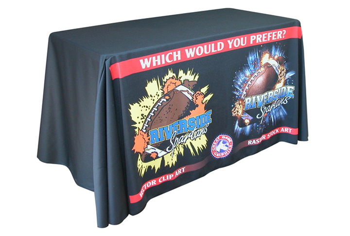 4 Foot Table Drape