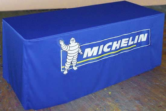 Trade Show Table Cover, 4 Sided, Fitted