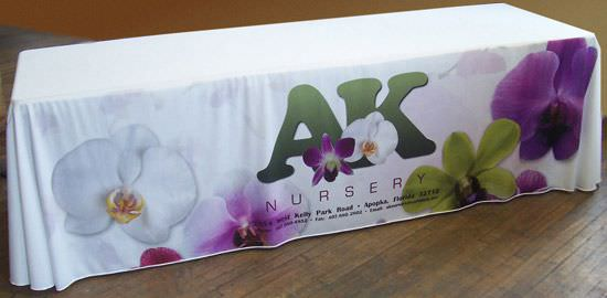 AK Nursery, DyeLux Printed Table Drape