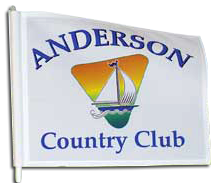 Custom Backyard Golf Pin Flags