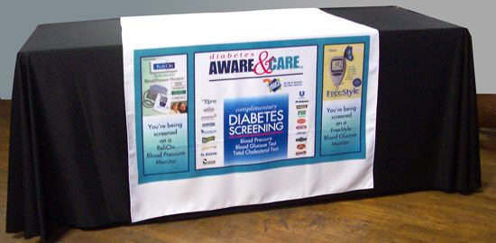 Wal-Mart-Aware Polyester Table Runners