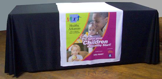Polyester Table Runners,  Wal-Mart, Children