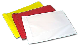 Blank Nylon Golf Flags