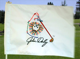 Embroidered Golf Flags