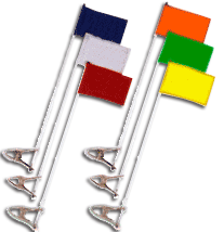 Blank Golf Cart Flags