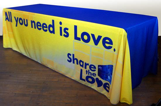 Jet Blue / All You Need Is Love, Table Cover