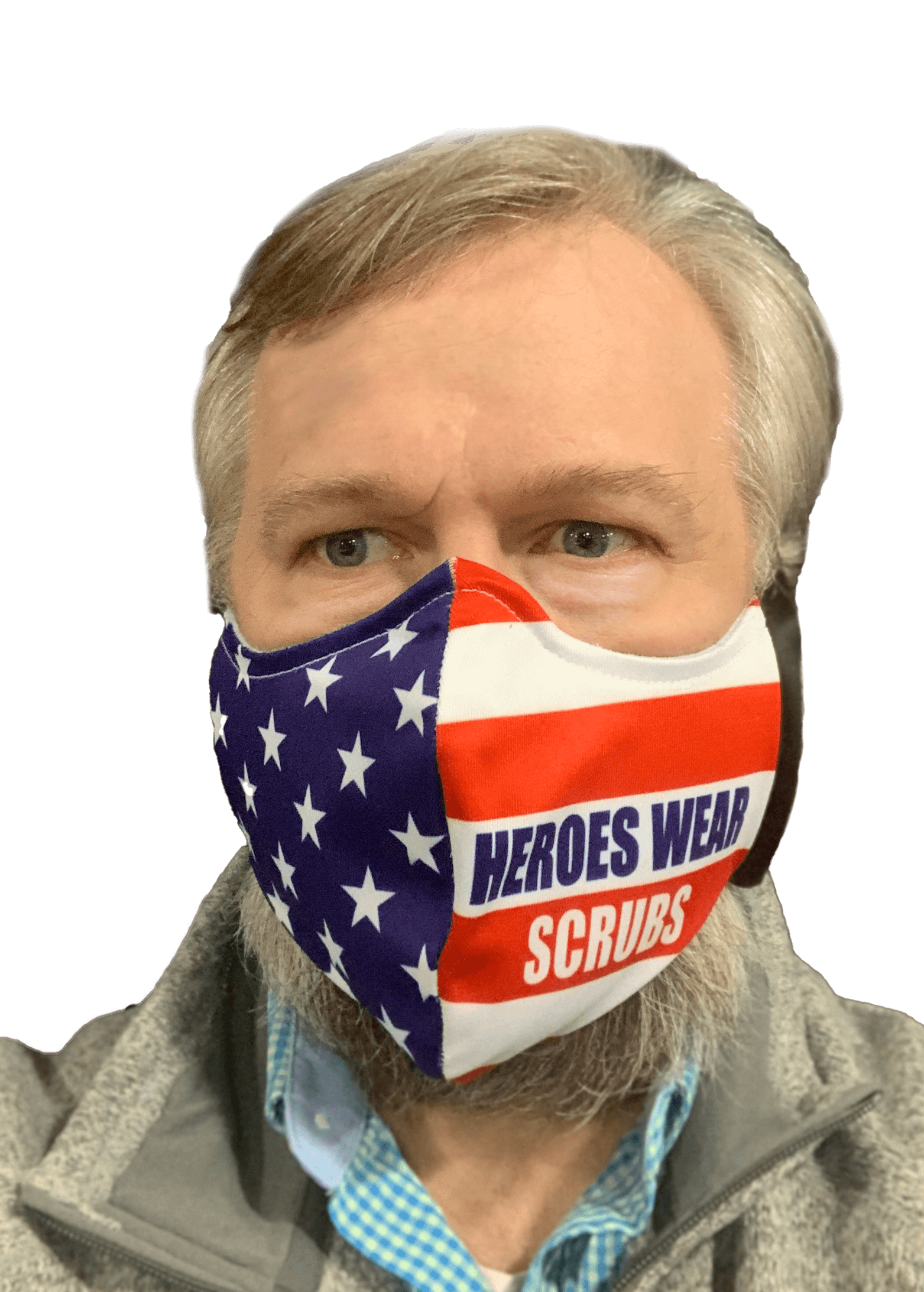 custom fabric face mask from FLS Banners