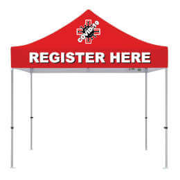 REGISTER HERE - 10x10 Popup Tent