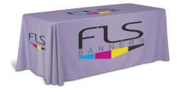 Custom Table Covers And Tablecloths For Trade Show And Events Fls
