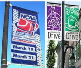 Avenue / Street Banners