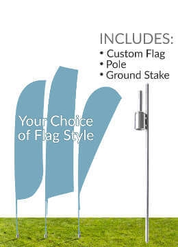 Flag & Ground Stake Kit
