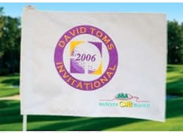 Custom Golf Flag - Special Event - Different Logos