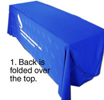Step 1 - Folding Table Cover
