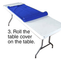 Step 3 - Folding Table Cover